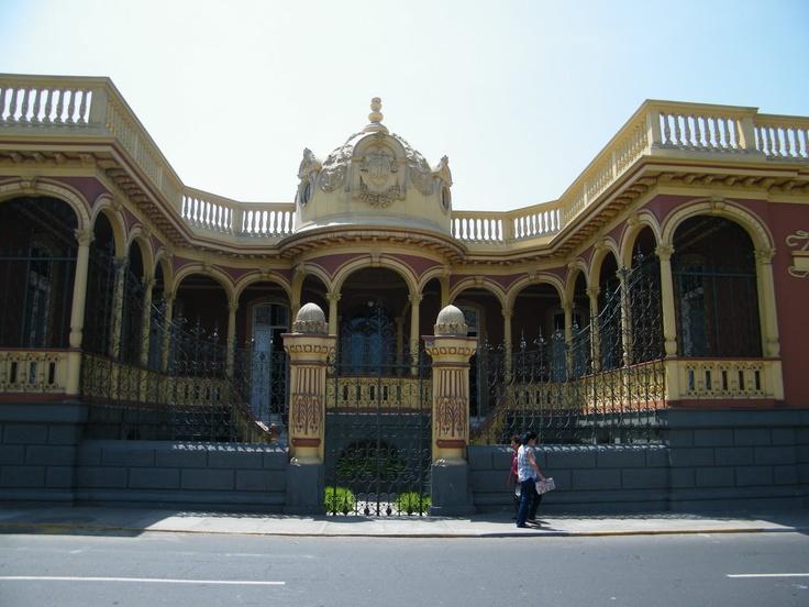Arquitectura victoriana o art noveau??