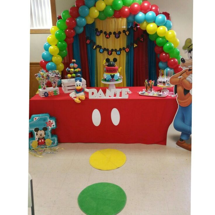 Taking Time To Create Mickey Mouse Clubhouse Birthday