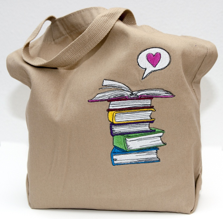 Cute idea for Tote bag.  Design from Urban Threads.