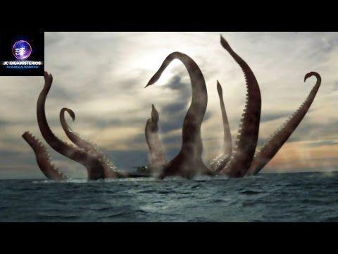 El Mítico Kraken es Captado en la Antártida con Google Earth - YouTube