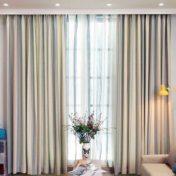 Cheap curtain tie back tassel, Buy Quality curtains for large picture window directly from China curtains for round windows Suppliers:  American pastoral style modern linen stripe curtains for living room finished window linen tulle curtains hotel curtain