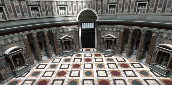 Roma en 3D, un viaje en el tiempo.