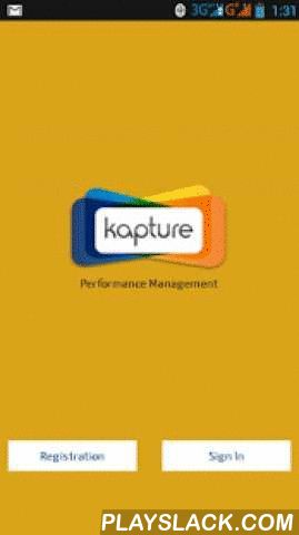 Kapture Mobile CRM  Android App - playslack.com ,  Kapture CRM is an intuitive Android app that empowers you to grow your business exponentially through better lead management.It is functional as a mobile-based application with a portal in the backend, envisaged to solve the purpose of handling sales related activities like capturing consumer/lead data, managing follow-ups, adding and monitoring tasks as well as sales employee tracking. It has been designed keeping in mind how the sales team…