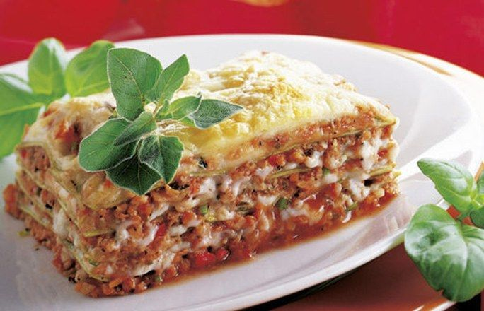 Soja-Lasagne - Klick aufs Bild und gelang zum genialen Rezept!