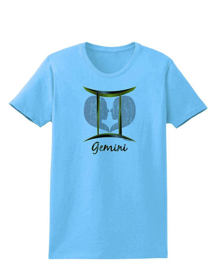 TooLoud Gemini Symbol Womens T-Shirt