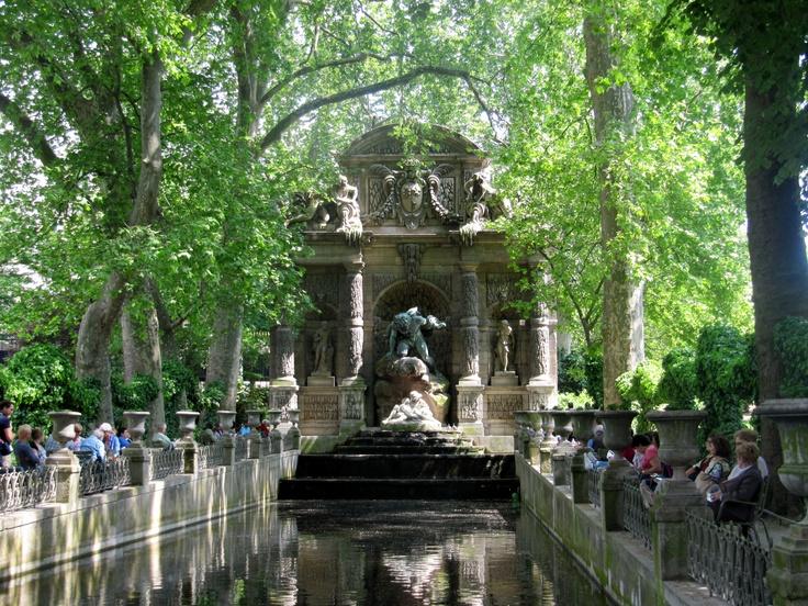 The Medici Fountain, Le Jardin du Luxembourg