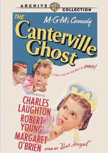 the canterville ghost charles laughton robert young margaret obrien - Halloween Movies For Young Kids