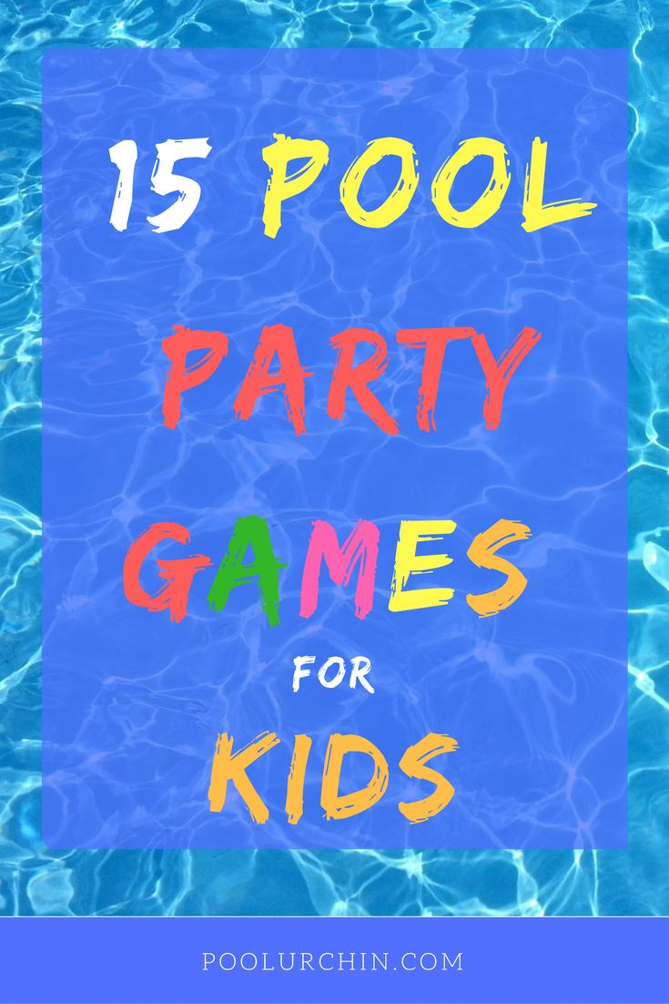 16 best images about pool urchin on pinterest safety - Swimming pool activities for kids ...