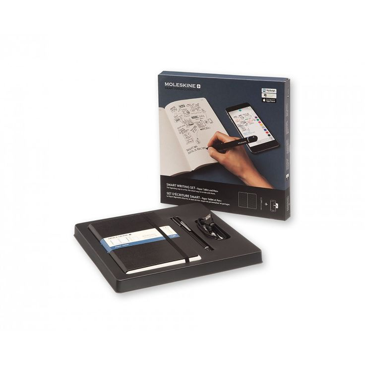 Moleskine Smart Writing Set with Paper Tablet and Pen - For Him - Gifts - Stationery