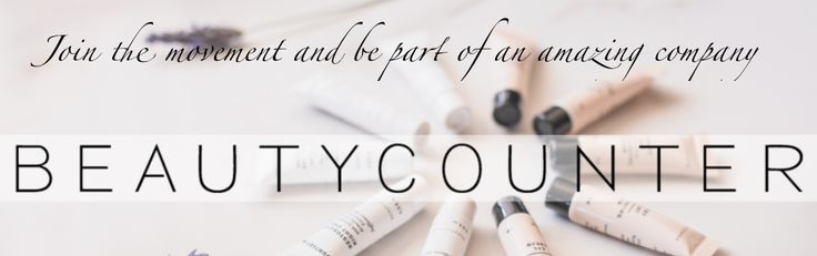 Join me and be part of Beautycounter, our mission and opportunity. Whether you have 30 min a day, 5 hours a week, 25 hours a week or 40 hours a week — it is your business and offers flexibili…