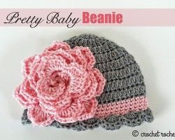 pretty baby beanie