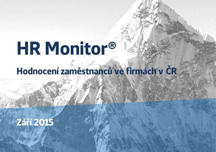 HR Monitor - HRM6 Studie: Hodnocení zaměstnanců ve firmách v ČR