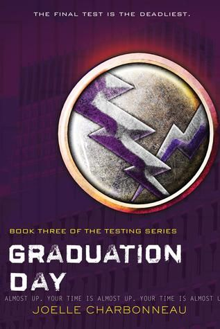 12 series finales to read. The Testing series is a great dystopian read that doesn't feel stale.