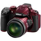 Nikon Coolpix P520 - 3.2″ 18.1MP Rød 42x