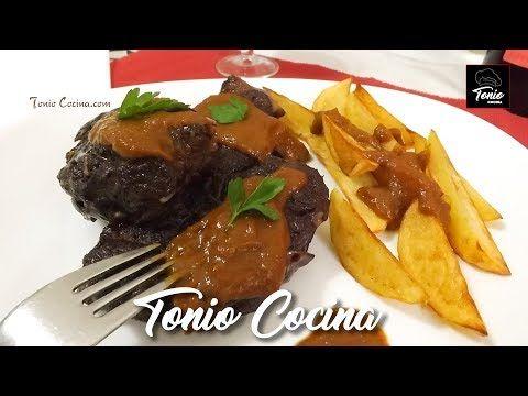 Jarrete de Ternera estofado al vino tinto   Receta Tradicional para Navidad   #TonioCocina - YouTube
