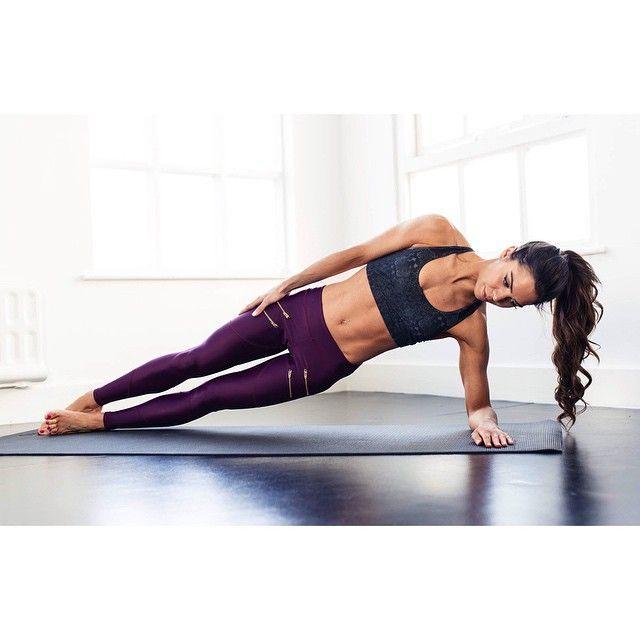 forearm side plank #yoga
