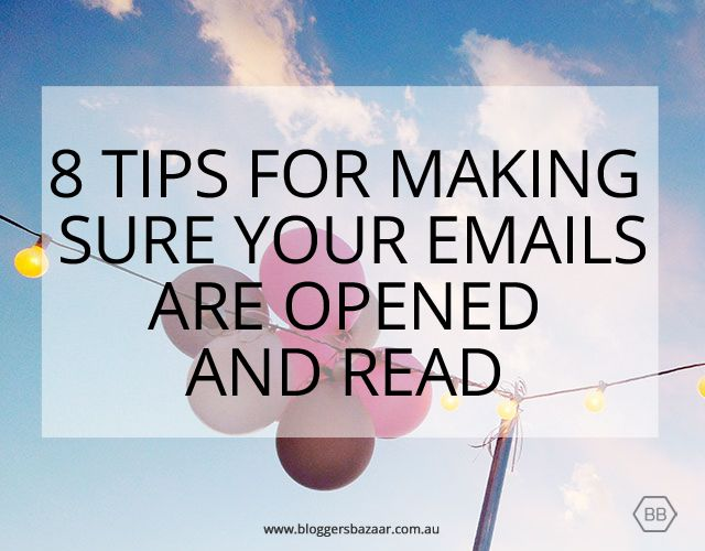Here is a round up of top tips for getting your email newsletters opened and read by your subscribers.