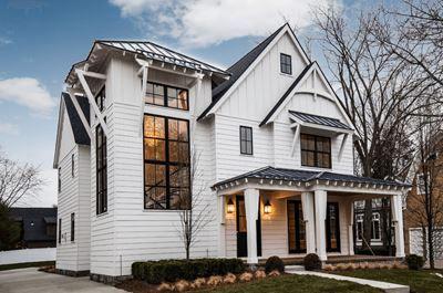 İki Katlı Beyaz Villa Modelleri G 252 Zelev 2019 Ev