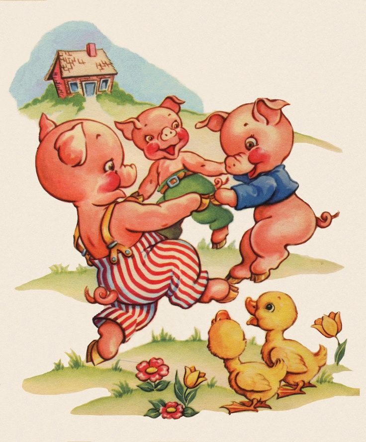 твоя жизнь картинки свинок из сказок своей