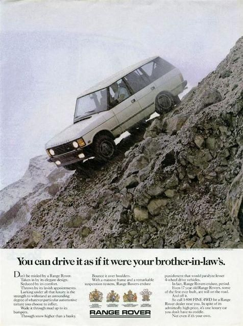 You can drive it as if it were your brother-in-law's - ROVERHAUL.com, Land Rover Restorations & Pictures