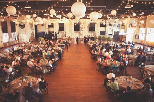 {ceremony and reception in one} such a good idea. So much cheaper and the party never stops!