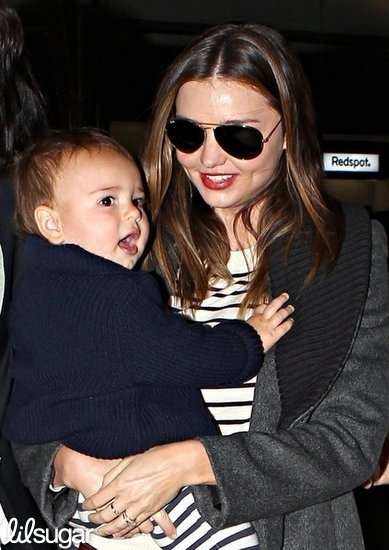 mom cute: miranda kerr