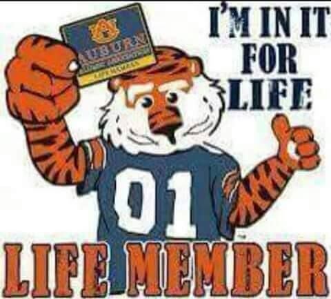Oh yeah! For life! War Eagle Forever!