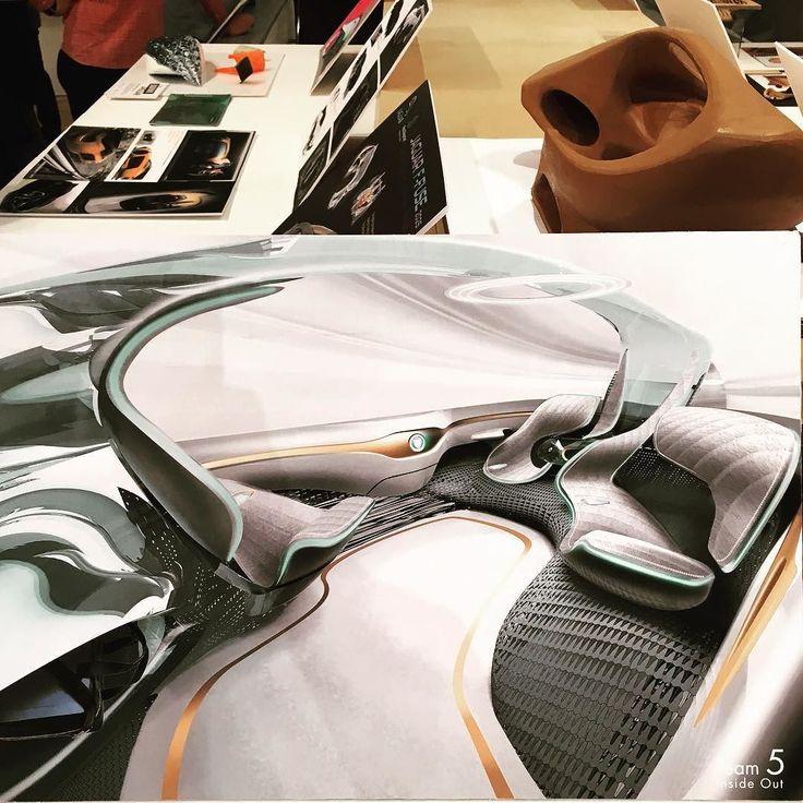 Jaguar Autonomous Interior Concept By Team Inside Out Employs Woven Materials RCA
