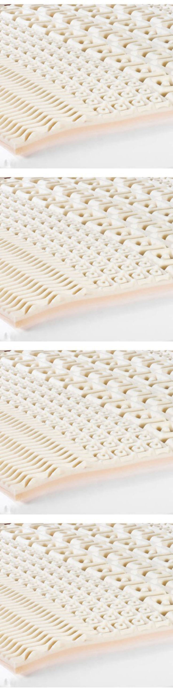 Mattress Pads and Feather Beds 175751: 2 Full Size Foam Mattress Pad  Convoluted Bed Topper