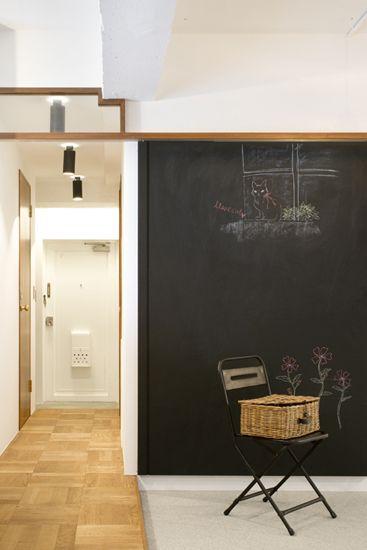 【リノベ暮らしな人々】vol.5 フルリノベーションと黒板の家