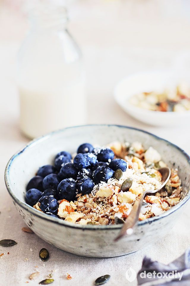 Breakfast: Nut Muesli | Detox DIY