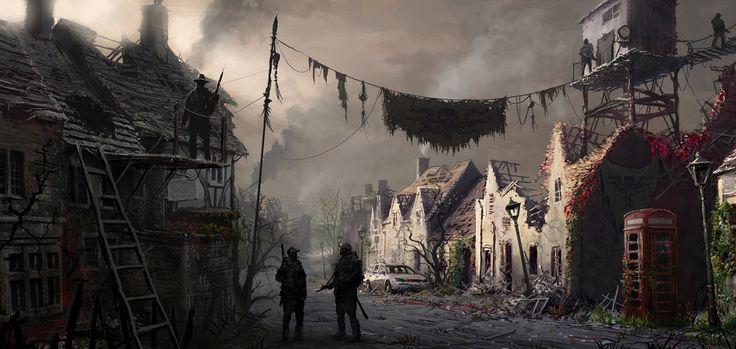 Broken Settlement   Dystopian post-apocalyptic   Post ...