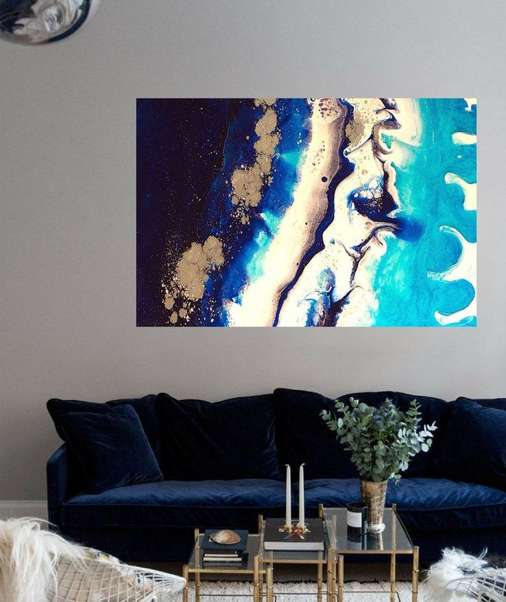 Sydney Harbour 4 Ice Flow 1.1 Left - Antuanelle - Limited Edition Print or Commission original artwork by MarieAntuanELLE on Etsy