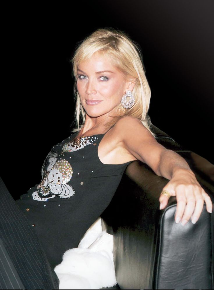 Sharon Stone ... like her hair.