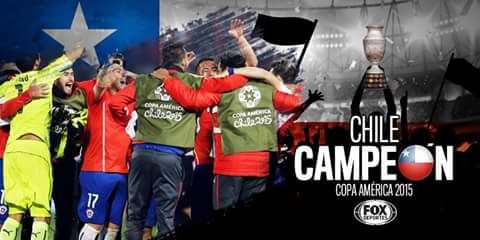muchas felicidades campeón. #chile