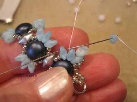 Easy Bracelet With Superduos ~ Seed Bead Tutorials