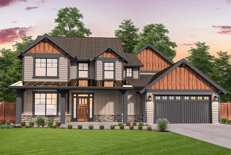 Flexible Craftsman Lodge Home Plan with Two Master Suites - 85226MS | Architectural Designs - House Plans