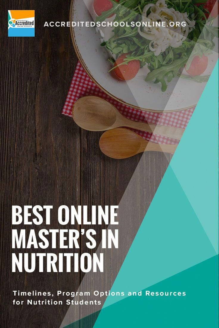 Those Who Have Earned An Online Master S Degree In Nutrition Can Help Educate Individual Patients And Online Masters Programs Online Masters Nutrition Program