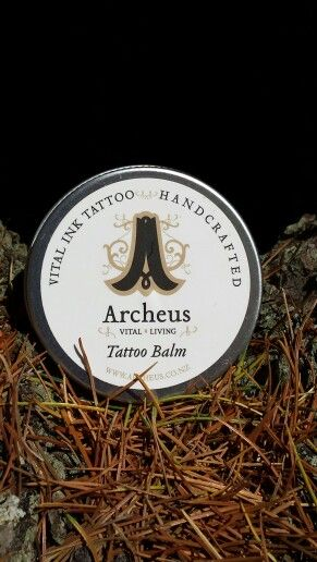Visit our website to get your Archrus Vital Ink tattoo balm