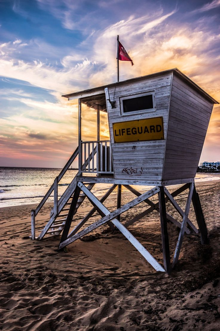 Summer - Lifeguard tower - by John Georgiou on 500px