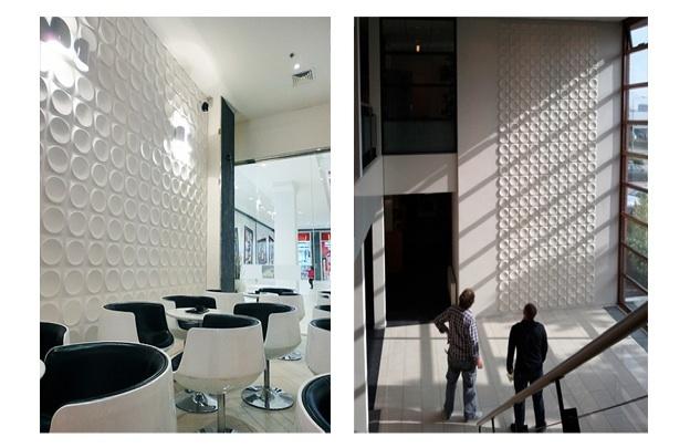 Decorativos - Okładziny bambusowe 3D  Bamboo dimensional panels 3dwalldecor