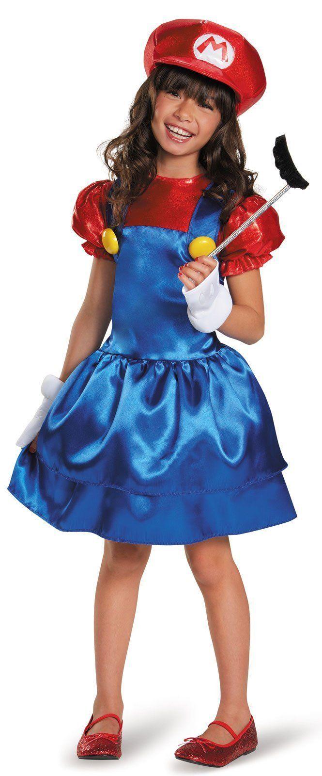 Super Mario Bros: Mario w/Skirt Child Costume