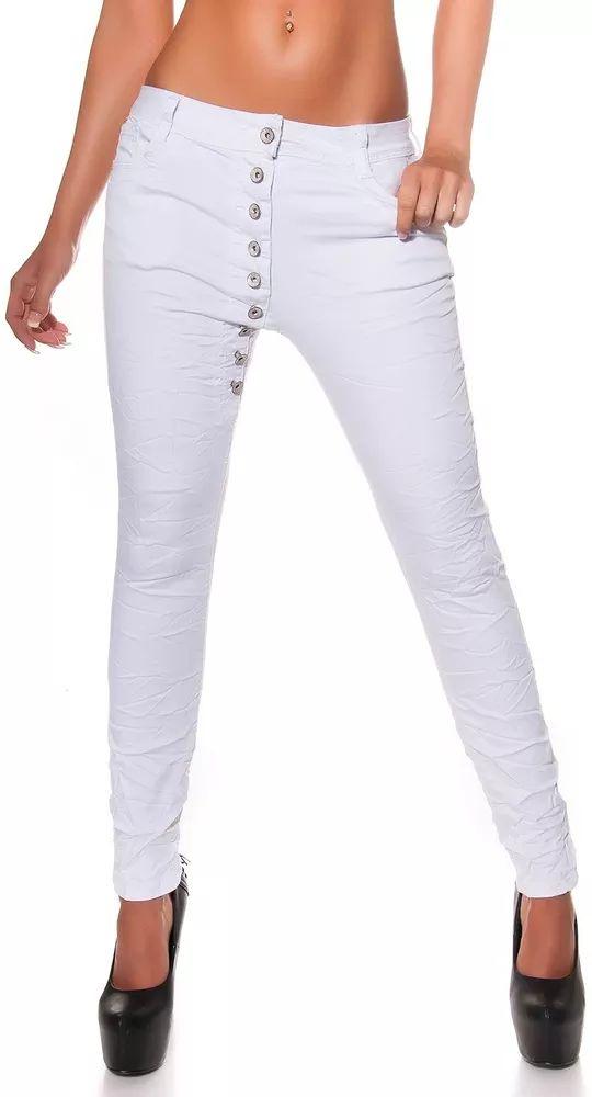 Bílé džíny dámské