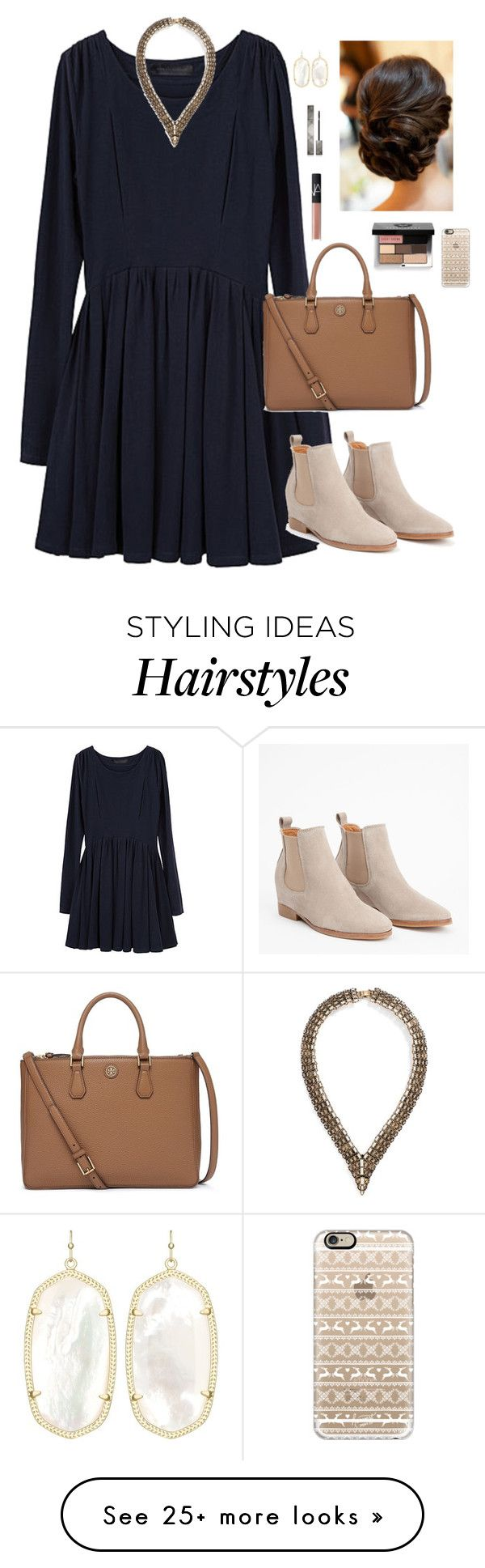 """I'll trade the troubles of this world for your peace inside my soul."" by oh-so-rachel on Polyvore featuring Proenza Schouler, BaubleBar, Tory Burch, Casetify, Burberry, NARS Cosmetics, Kendra Scott and Bobbi Brown Cosmetics"