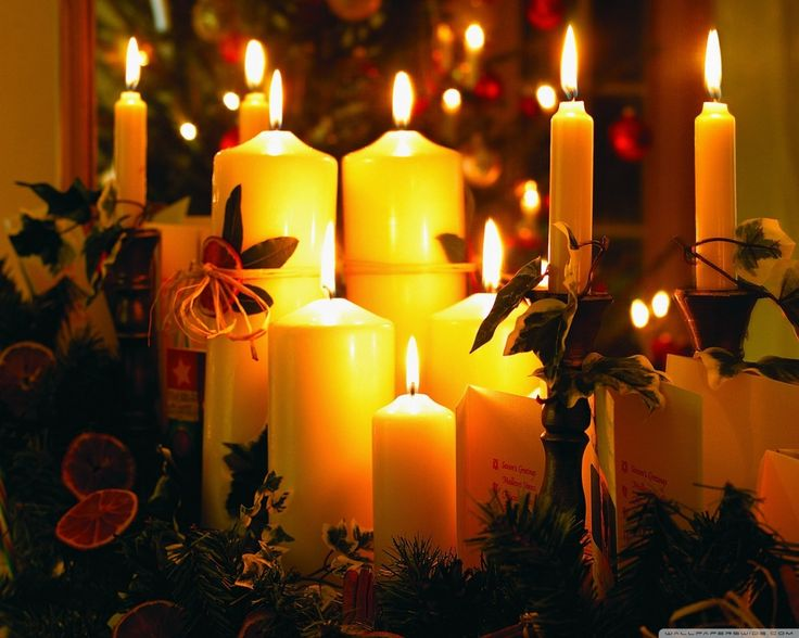 266 best CHRISTMAS CANDLES images on Pinterest | Christmas ...