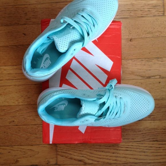 Nike air sneakers Tiffany blue air max Nike Shoes Athletic Shoes