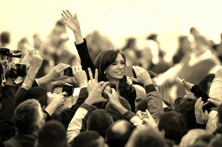 Cristina y el pueblo