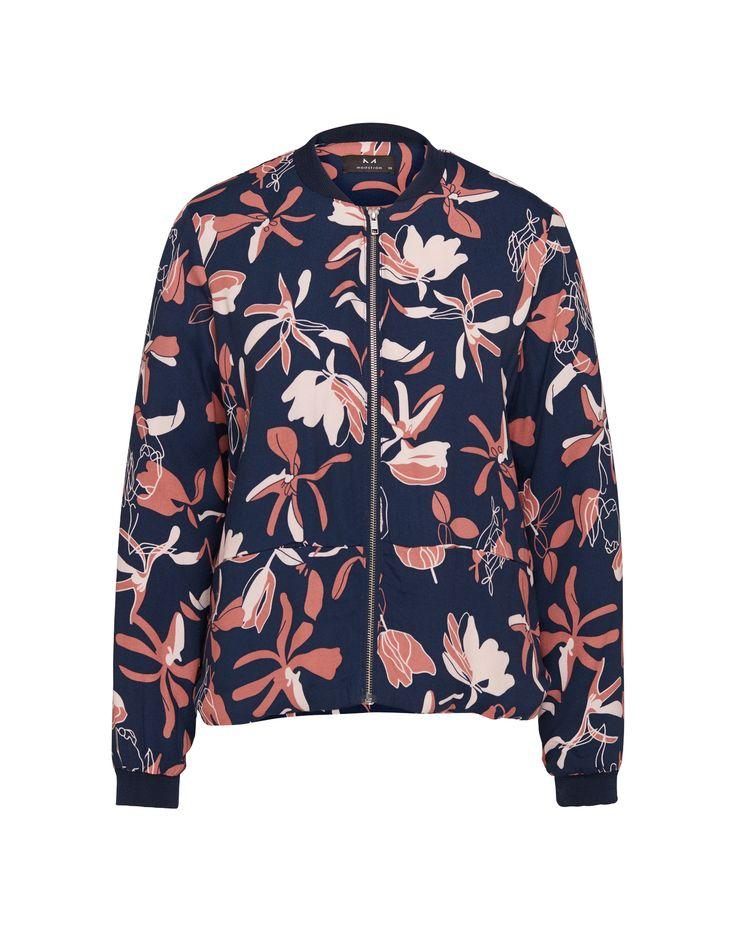 Florale Bomberjacke von modström @ABOUT YOU http://ow.ly/XYAht