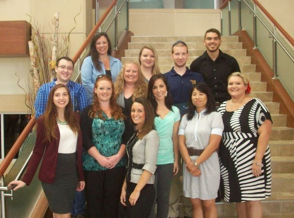 Pierpont's Respiratory Class of 2016 embarking on a new phase of their academic career at WVU Hospital in the ICUs.