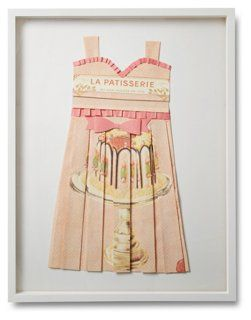 Wolfe, French Patisserie Folded Dress